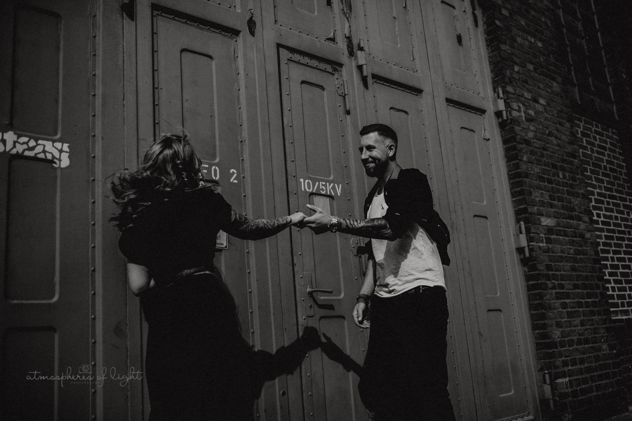 Zeche Werne, Paarfotografie Esther Posala